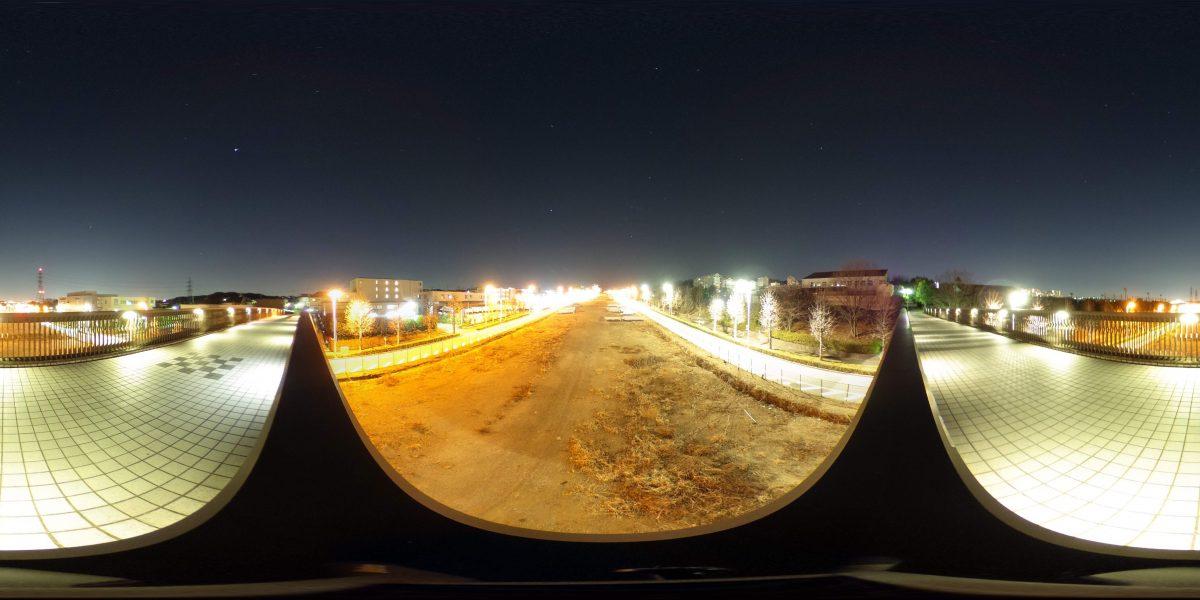 THETA S 夜景